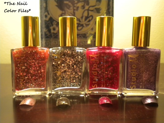 Glitters from the Studio M Be A Heart Breaker 2013 collection.